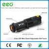 3W 3 Modes LED Torch Q5 LED Flashlight Adjustable Focus tactical Torch Zoom Flash Light Lamp Super Mini