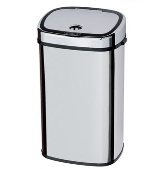 13 gallon 60L touch-free sensor stainless steel touchless automatic trash can