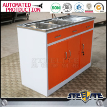 Metal small kitchen design cabinet kitchen cabinet in philippines