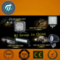 auto tuning led lights 12V 4inch 18W LED work light offroad round shape car part driving light