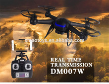 New design selfie drone DM007 dron with hd camera and wifi fpv for sale