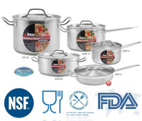 Enterprise Qualtiy Super Capsule Bottom Cookware Sets