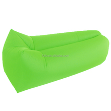 wholesale Hangout Fast inflatable air sofa lay bed and camping air lounger lazy bed