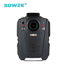 Automatic IR-Cut With 4 IR Lights Body Worn Camera Ambarella A12 Solution Night Vision