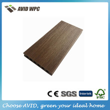 wpc solid decking capped co extruded decking for sale