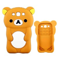 Cute 3D animal silicon case for samsung galaxy core i8260