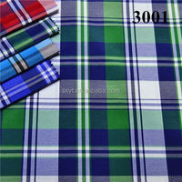 40x40 100pct cotton double layer indigo yarn dyed fashion shirting fabric