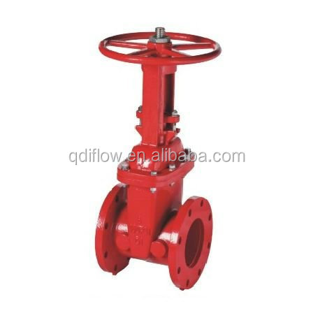 resilient sealed gate valve