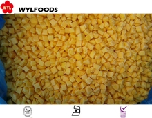 Hot Sale frozen diced yellow peach with Best price