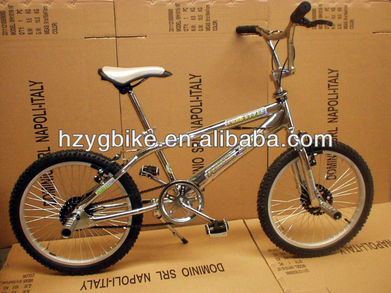Custom silver sport bicycle/bmx bikes freestyle for performance