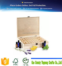 OEM Wooden Essential Oil Box, Beauty Shop Essential Oil Storage Box