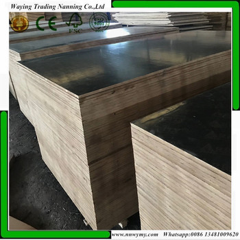 18mm marine plywood black/brown film faced plywood sheet for construction and real estate