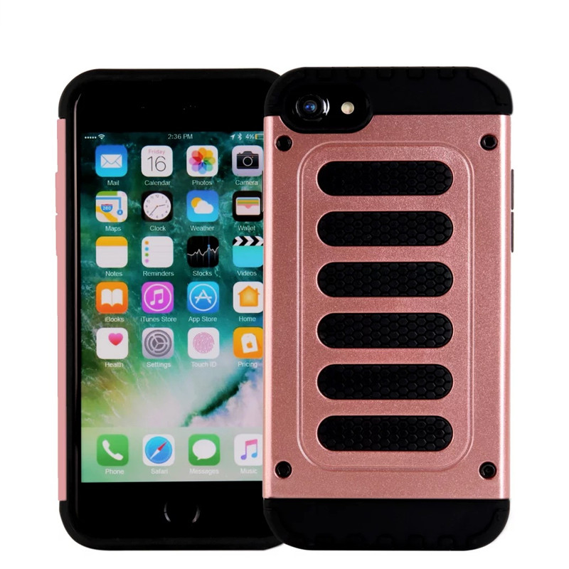 Combo TPU PC Hard Rugged Hybrid Armor Phone Case For iphone 5G