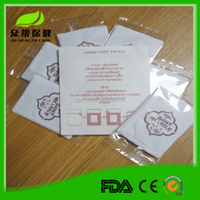 OEM Takara detox foot patch Dr. Snow 100% plant herbal detox foot patch