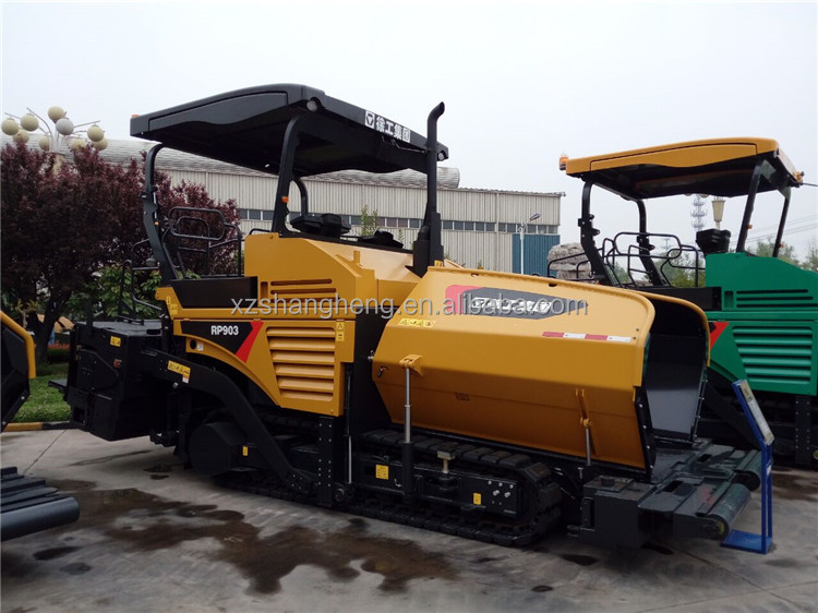 China road paver machine XCMG large asphalt concrete paver RP903