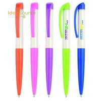 Best Selling Plastic Ballpoint Pen With Clip Custom Logo Printed Pen For Sale