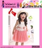 Cute Wholesale Girls Summer Dresses Lace Short Sleeves Girls Summer Dresses