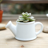 Wholesale Creative White Ceramic Flower Pots