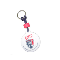 oval customized EVA key tag/EVA keychain /floating keyring