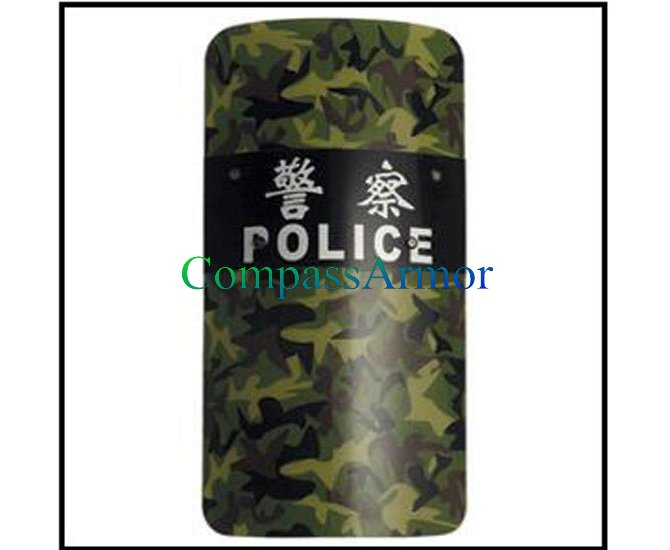 Anti Riot french Shiled material PC/ABS 900x500x3mm