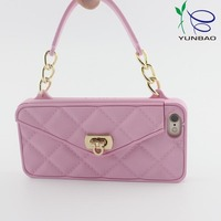 4.7 inch locked wallet girly silicone cell phone cases for phone 5