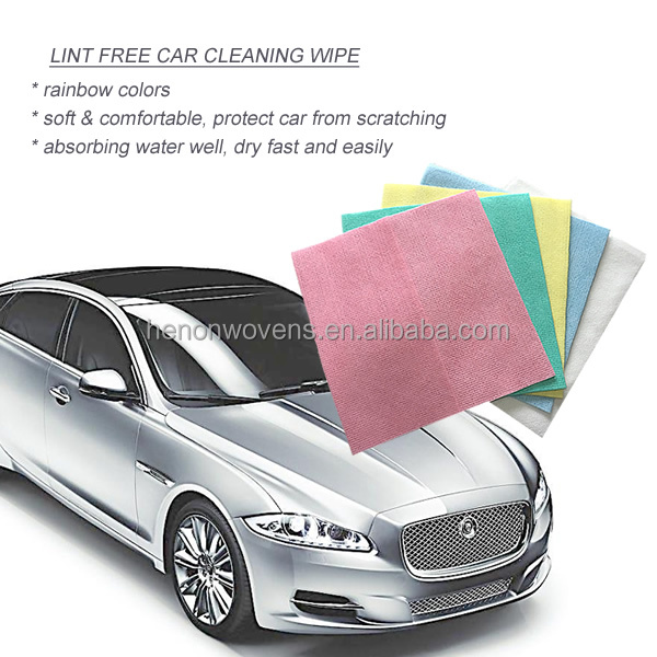 multi-purpose car care dust cleaning wipes