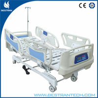 China BT-AE016 CE hospital linak electric patient automatic icu bed, hospital bed spare parts manufacturer