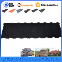 Shingles solar colored metal roof tile