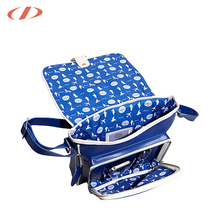 2018 PVC College bag men charm bag photos leather shoulde bag