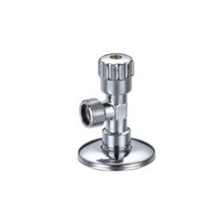 Press zinc Handle ABS Blue cap gate brass angle valve