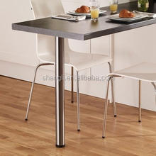 Stainless steel cabinet table desk leg support