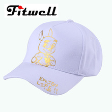 Promotional Polyester Plain Baseball Cap For Girls