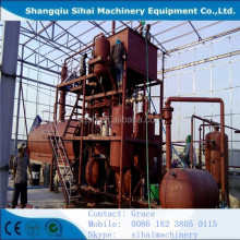 Engine Oil Regeneration Machine by Vacuum Distillation plant