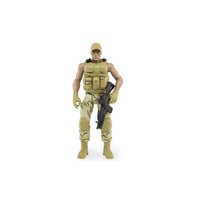 Custom Miniature 3D Printing Figures, Military Figures Resin