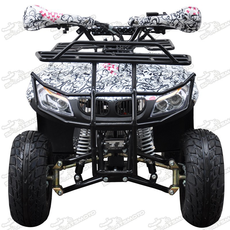 NEW Cheap 125cc ATV With Reverse 3+1 Gears Quad Bike