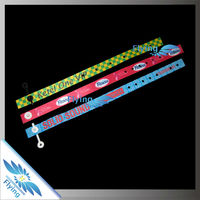 2018---fabric festival wristband for events--customized logo