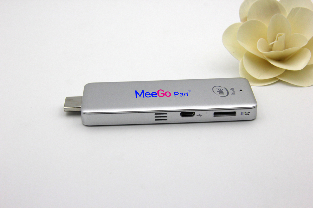 2014 latest Meegopad Intel Quad Core Z3735Fwindows mini pc dongle TV dongle windows8.1 Android Ubantu set top box compute stick