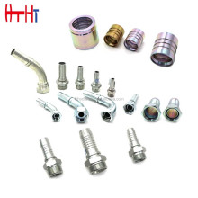 jingxian huatai high quality Industrial tube pipe fitting hydraulic hose pipe connector parts fittings