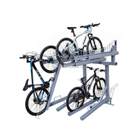 Bike Stand Parking Rack Floor or Wall Mount Bicycle Cycle Storage Locking Stand
