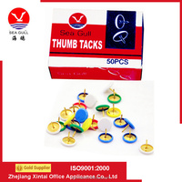 The SEA GULL Plastic Coated Thumb Tacks With Good Use