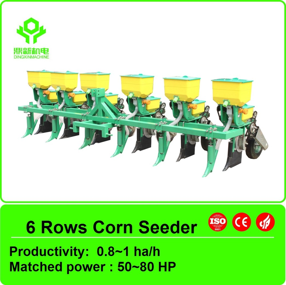 Agricultural corn seeder / farm tractor used corn seeder