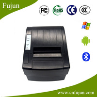 DC12V Black 80mm Pos-8220 USB+ Bluetooth Android Thermal Receipt Printer Bluetooth With Free Print SDK