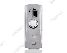 Vandal Resistant Access Control Metal 12V Push To Exit Button