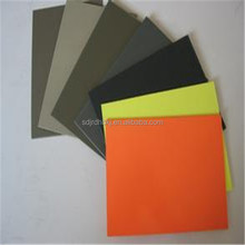 Good quality PVC cover plastic sheet 3mm on sale