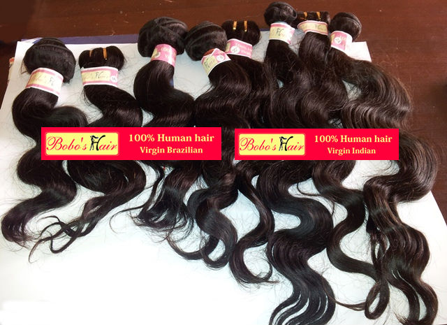 Virgin Indian Brazilian Peruvian hair