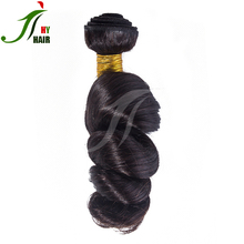 qingdao hair factory 7A 8A 9A loose wave virgin remy human hair extensions 100% full cuticle aligned mink brazilian hair