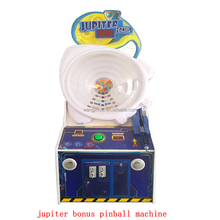 hot product coin operated lottery ticket redemption machine jupiter bonus pinball arcade games machines