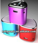 Portable/Mini /Mobile /speaker for MP3/MP4/MP5/PC/laptop, Support TF/SD/U disk/MP3 fotmat/ FM radio