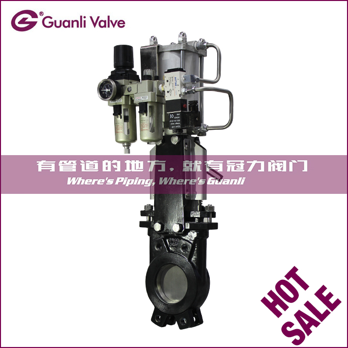 Knife Gate Valves with EN1092 & MSS SP81 & JIS10K Connection