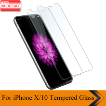 For iPhone X Screen Protector Tempered Glass Toughened 9H Clear
